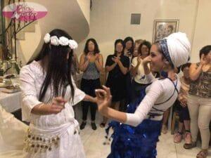 רקדנית בטן לערב מקווה - שמחה וריקודים. צילום: דניאלה דהן