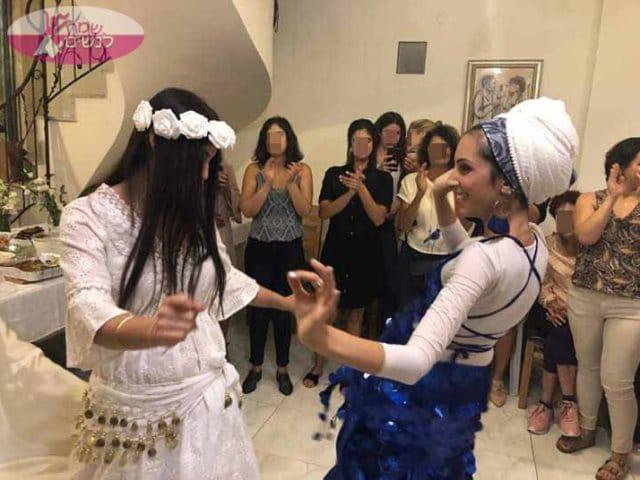רקדנית בטן לערב מקווה - שמחה וריקודים. צילום: דניאלה